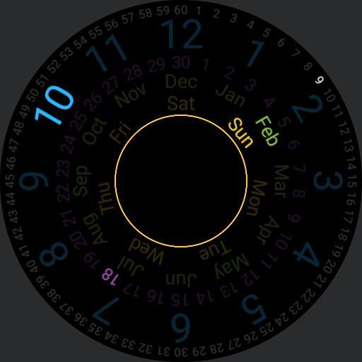 Rotating watch