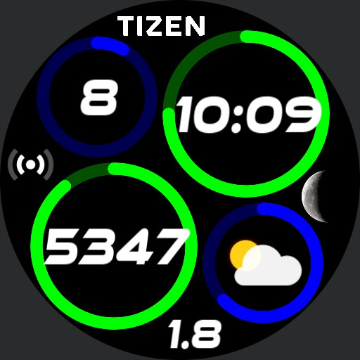 Quad Rings BG-Anim-Steps-Wear OS