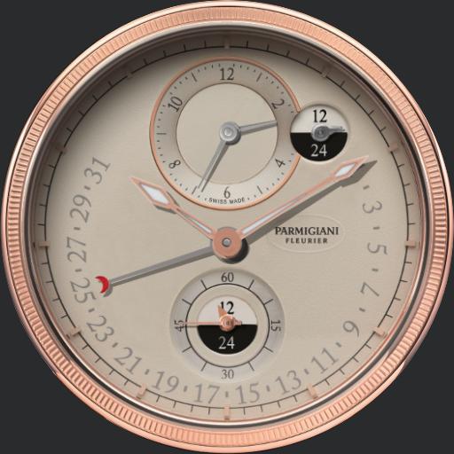 Parmigiani Fleurier Toric Hemisphere Retrograde V2