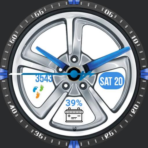 Wheel Blue