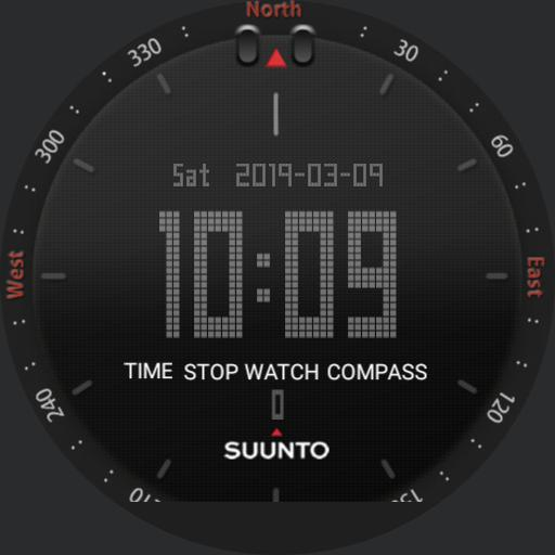 Suunto black  Black face2