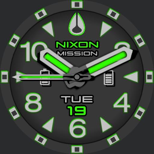 PVS Nixon 9 Factor-X Green