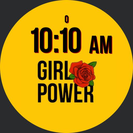 _girl power red rose by gaugaugexi