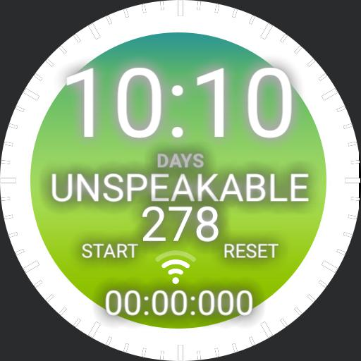 The unspeakable watch
