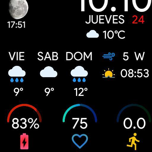 Mi Watch GTS 1.0 Weather