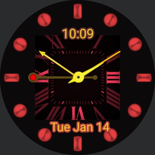 Rose gold watch Copy
