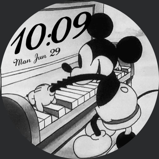 Mickey Mouses Piano