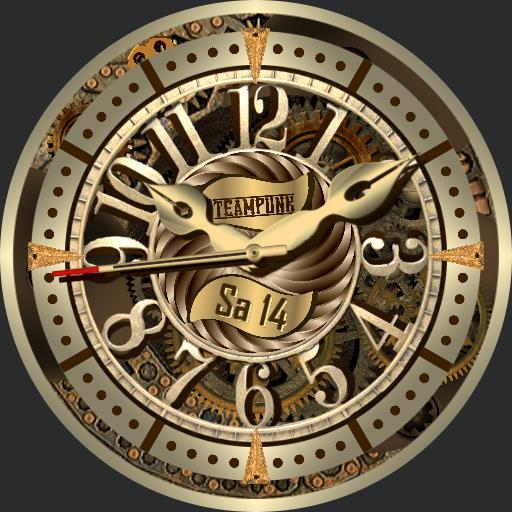Steampunk Tribute 2 face with Fader  V4.01