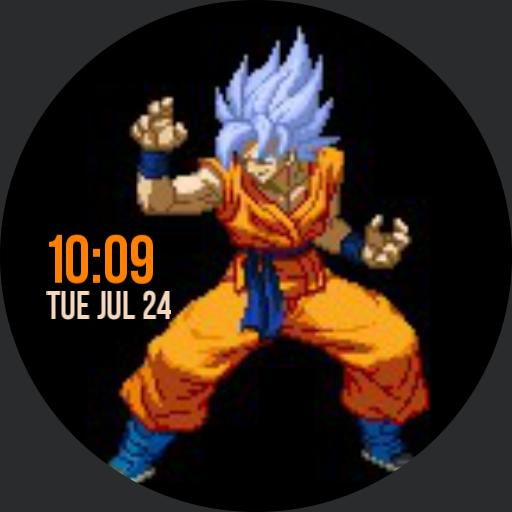 Goku Pixelated animated