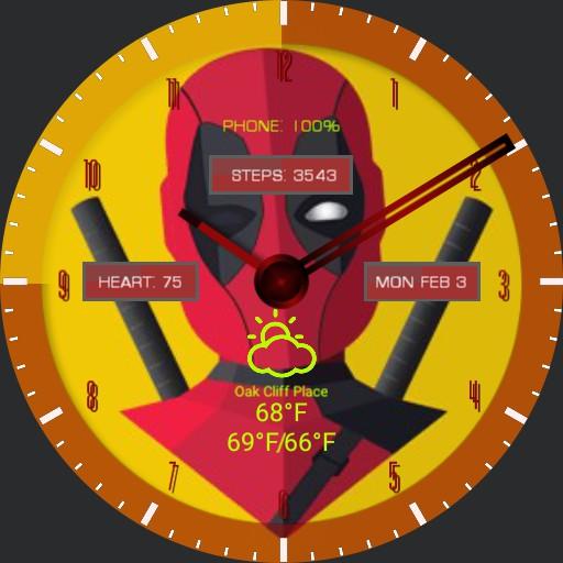 Winking Deadpool