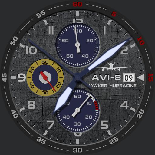 Avi 8 hawker blue