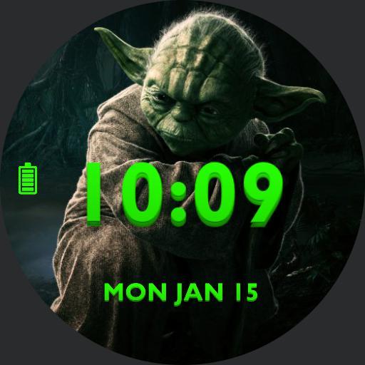 Green Yoda