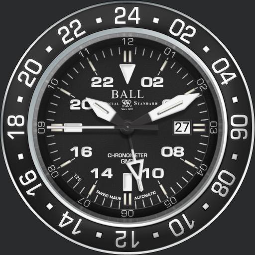 BALL Hydrocarbon Aero GMT