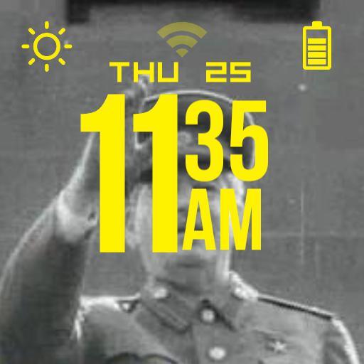 Stalin Waving