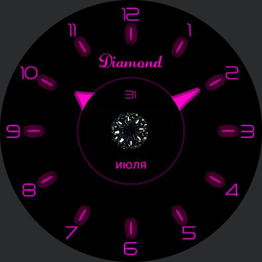 NEON DIAMOND analog color