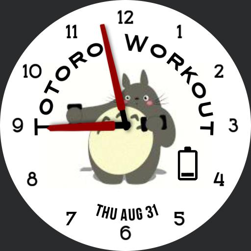 HS TotoroWorkout