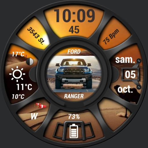 Ford Ranger and Sahara theme by Nspz_73