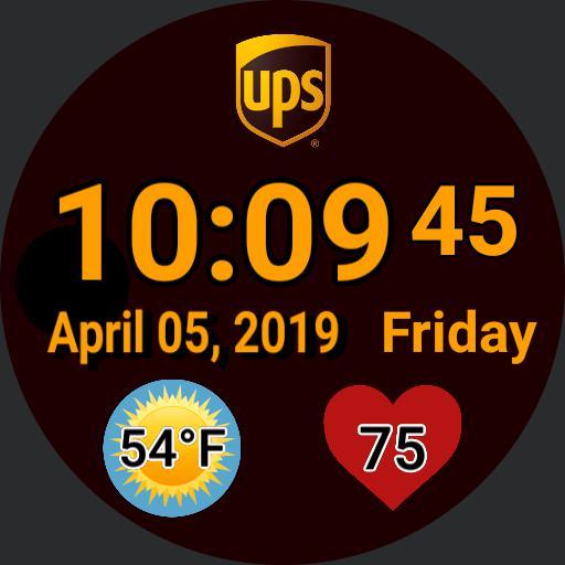 UPS DIGITAL WATCH