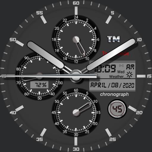 chronograph v 8
