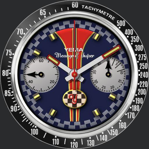 Yema Meangraf Super Chronograph
