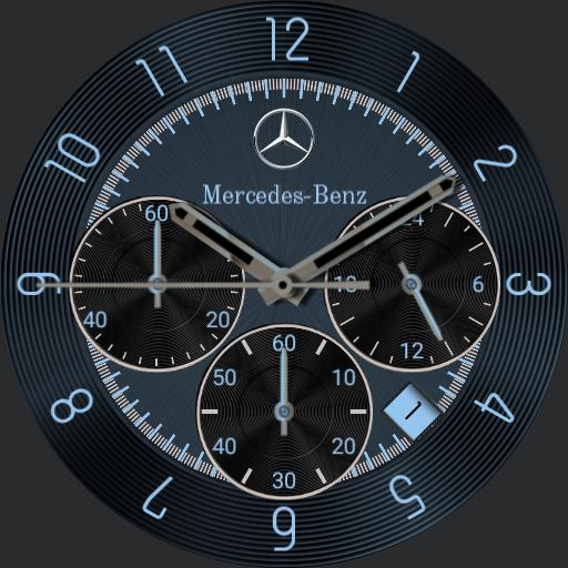 Mercedes-Benz Chronograph Blue