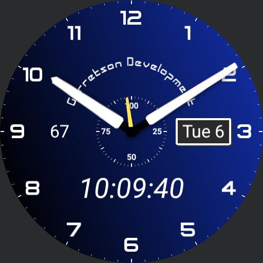 Garretson Development Royal Blue