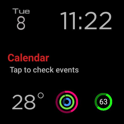 Apple watch face type 2