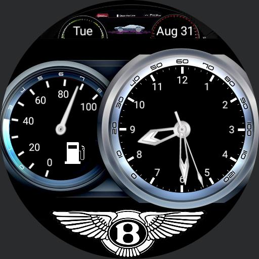 Bentley Dashboard Car Watch