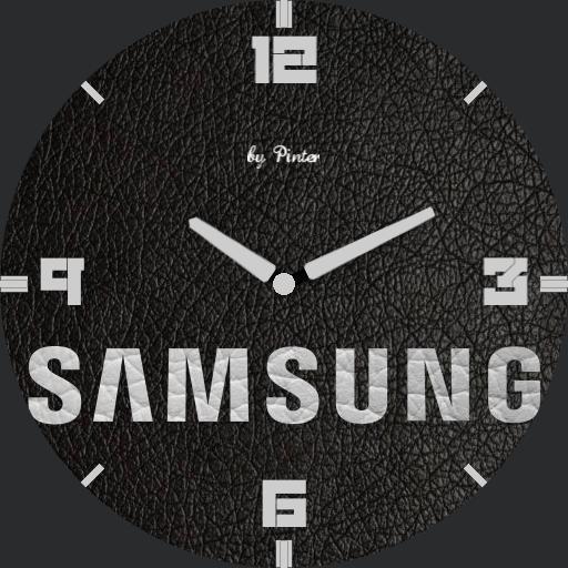 Samsung leather analog