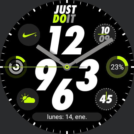 Nike Apple watch a/d ultra lime geeceejay Copy