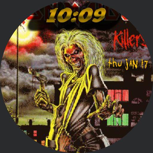 Killers Iron Maiden Eddie