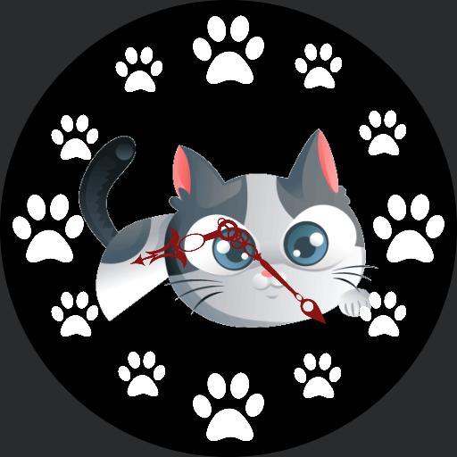 Kitty clock