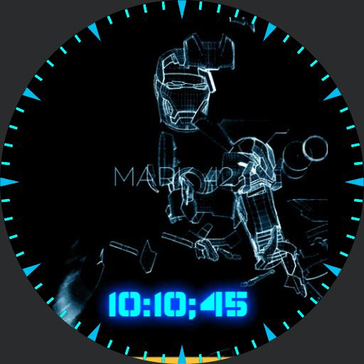 iron Man metal