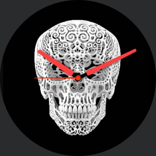 3D Skull Gello Analog