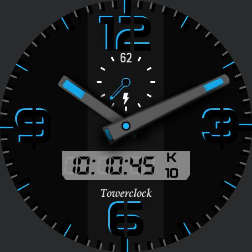 Towerclock color