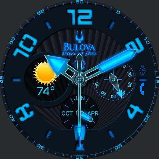 Bulova Marine Star Glow