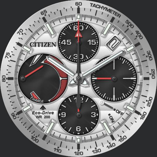 Citizen Promaster Bullhead Racing Chronograph