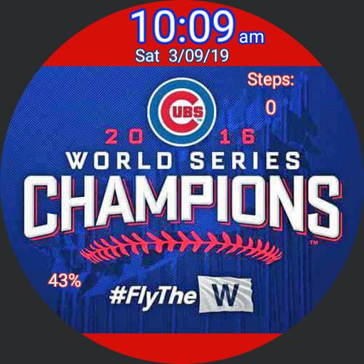 Cubs Win - steps