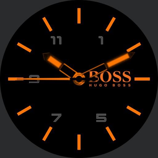 Hugo Boss Simple Black  Orange