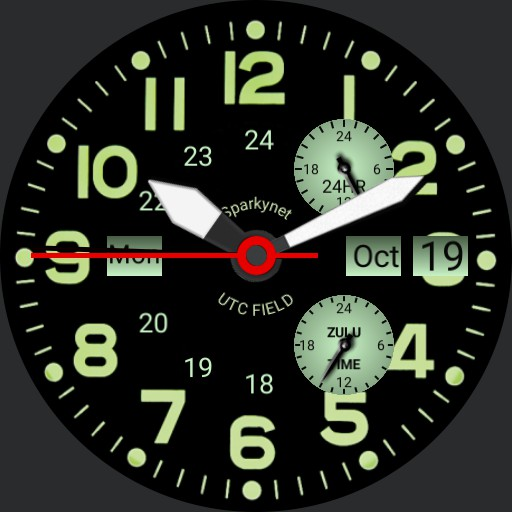 Sparkynet Field watch