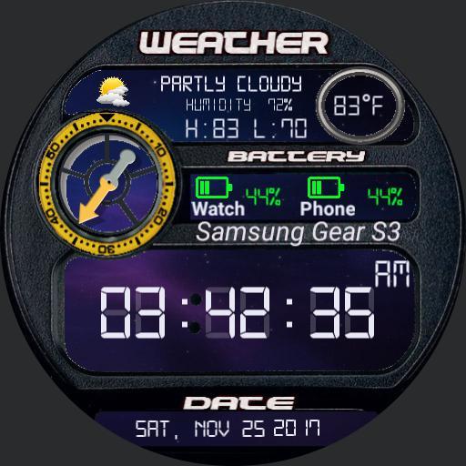 Galaxy Dashboard