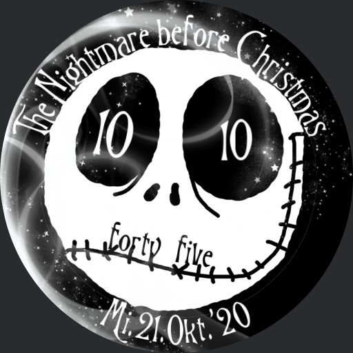 The Nightmare before Christmas Smile