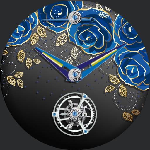 Blue Roses Tourbillon
