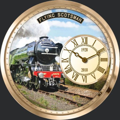 Flying Scotsman Tribute