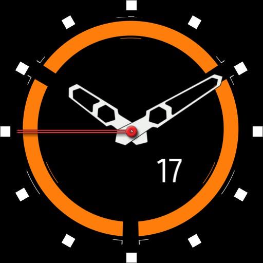 Simple Orange Circle