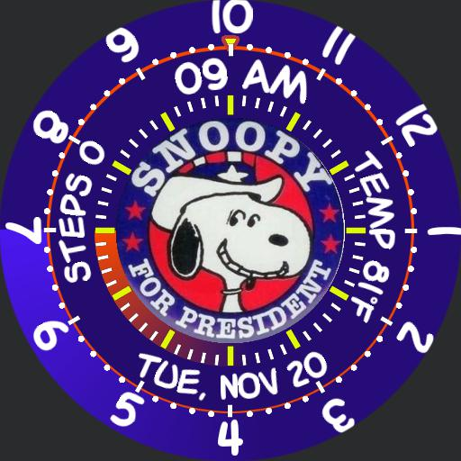 Snoopy for President Gyro