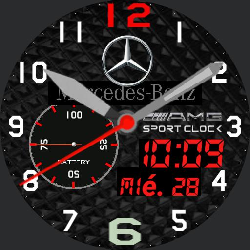 Mercedes Benz watch  FJM