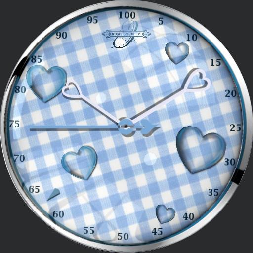 Heart Blue Animation