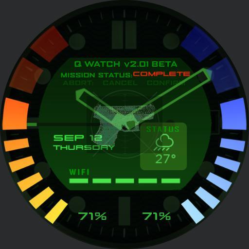 Goldeneye 007 64 Watchface Copy