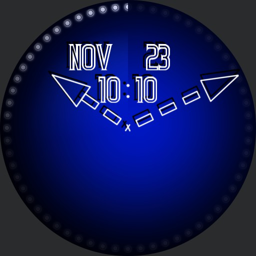 Simple Dot Watch